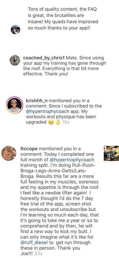 HypertrophyCoach Members